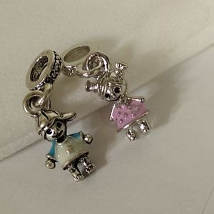 Little Boy and Girl Charms